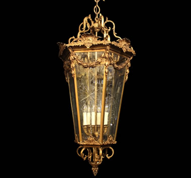 Large Antique Lanterns