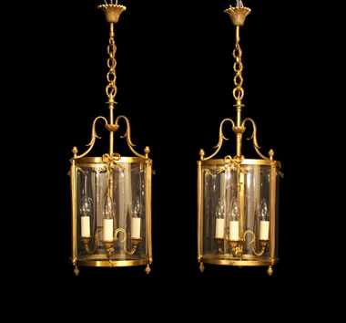 Antique Lantern Pairs
